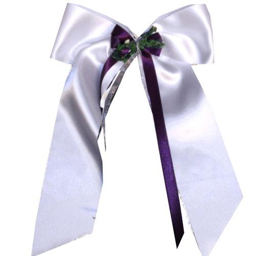 Kerzenschleife für Taufkerze Kommunionkerze S 036